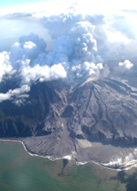 Soufriere Hills Volcano on Saturday 20 May